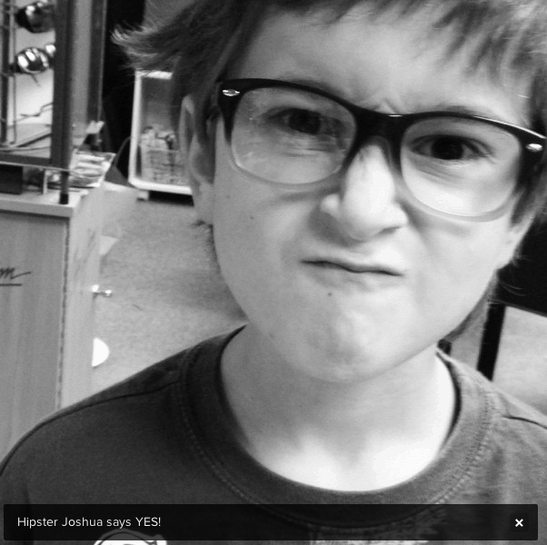 Hipster Joshua