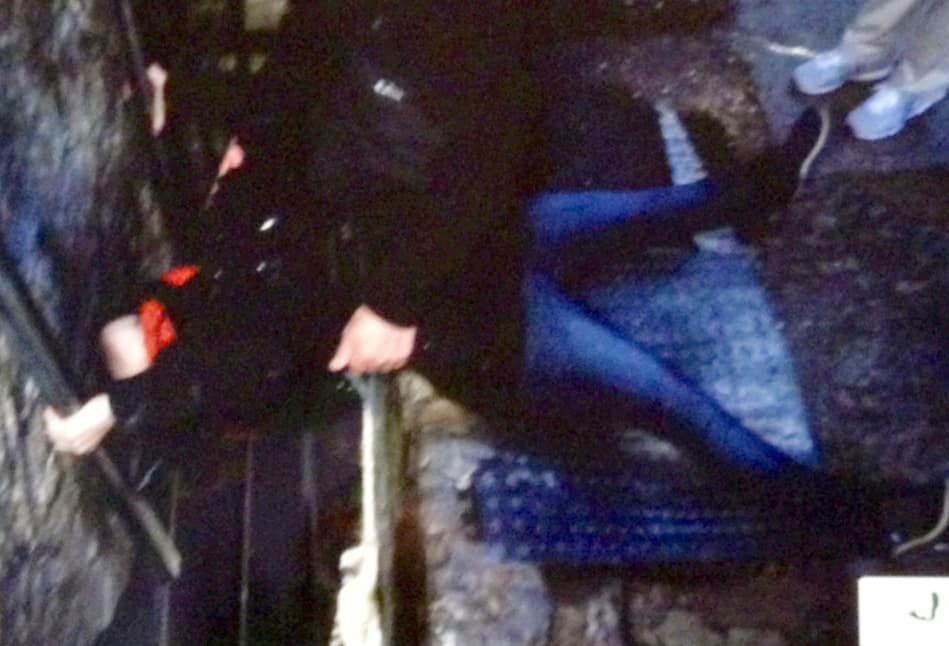 Kissing The Blarney Stone in Ireland