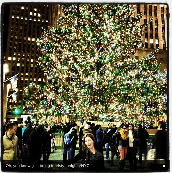 Rockefeller Center in December