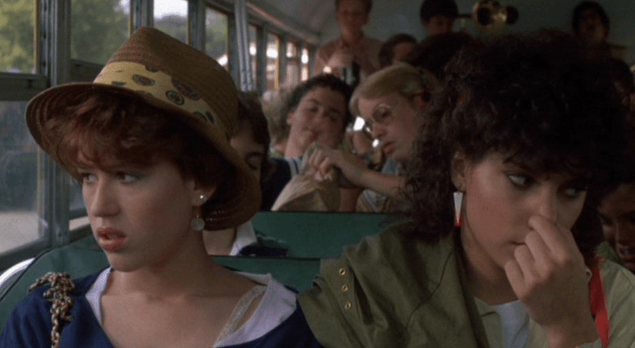 Sixteen Candles I loathe the bus