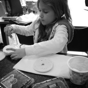 Isabella-makes-her-school-lunch