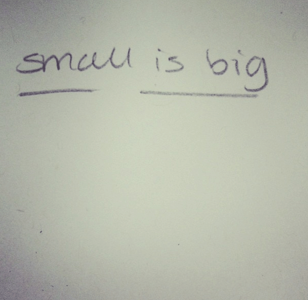 small-is-big