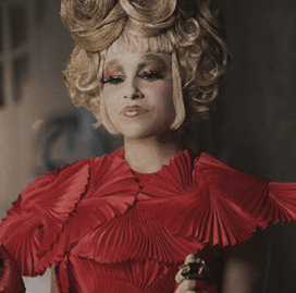 Effie-trinket-red-dress